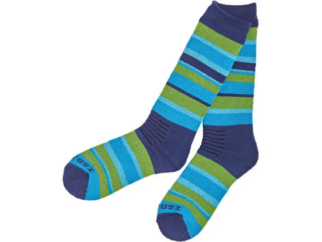 Isbjörn Snowfox Ski Socks Barn seagrass
